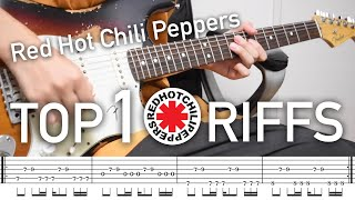 Top 10 Riffs: Red Hot Chili Peppers (Cover by Kazuki)