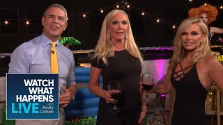 Shannon Beador And Tamra Judge Compete In An Obstacle Course | RHOC | WWHL