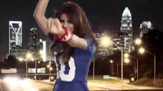 In My City - Priyanka Chopra rocks the latest NFL video   Giants vs Panthers ,Week 3