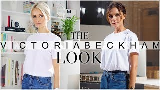 VICTORIA BECKHAM GET THE LOOK:  Outfit, Hair and Makeup for NYFW