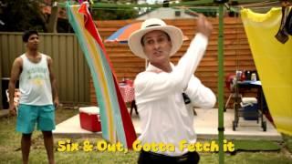 Backyard Cricket on Australia Day