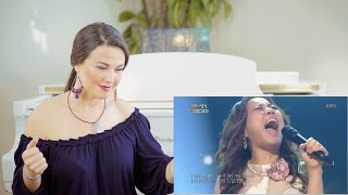 Vocal Coach Reacts to So Hyang - Bridge Over Troubled Water