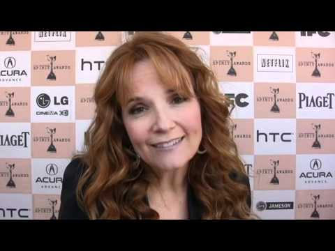 1:46 Lea Thompson at 26th Film Independent Spirit Awards (2011)