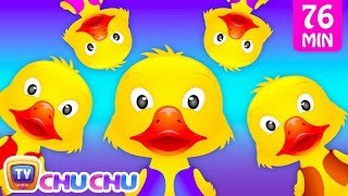 Five Little Ducks and Many More Numbers Songs | Number Nursery Rhymes Collection by ChuChu TV - YouTube