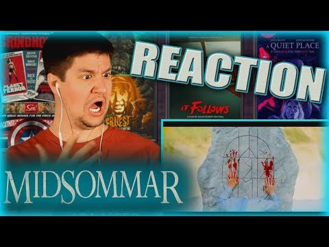 MIDSOMMAR (2019 A24 Film) - Trailer #1 Reaction & Review!!!