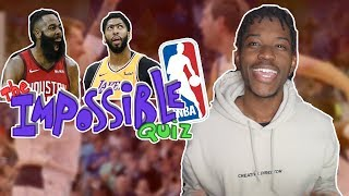 the nba quiz everyone called IMPOSSIBLE!