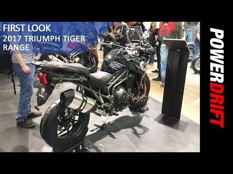 Triumph Tiger 800 XRT and 1200 XRT : EICMA 2017 : PowerDrift