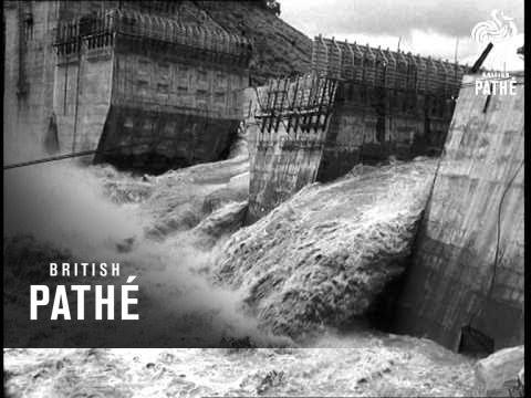 Flood Damages Kariba Dam (1958)