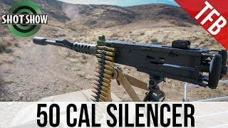 Suppressed M2 50 Cal Machine Gun - Delta P Designs