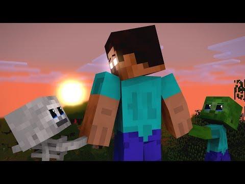 Monster School: Beginning of the story - Minecraft Animation