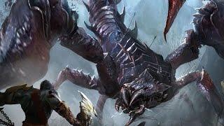 God of War 3 - Chaos Mode #10, Skorpius Boss Fight