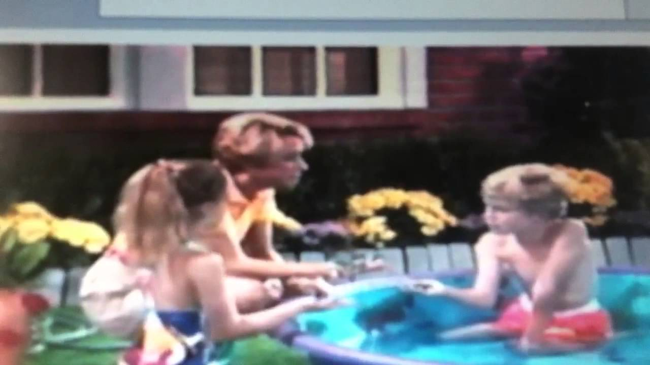 Barney day at the beach - YouTube