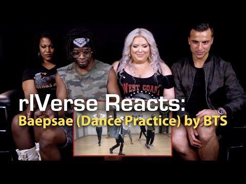 rIVerse Reacts: Baepsae by BTS - Dance Practice Reaction