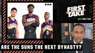 Stephen A. isn't ready to call the Suns the NBA's next dynasty   First Take