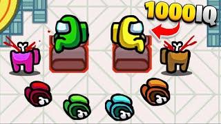 10 INSANE Among Us 1000 IQ PLAYS!