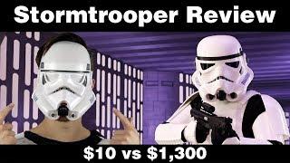 $10 vs $1,300 Stormtrooper Armor