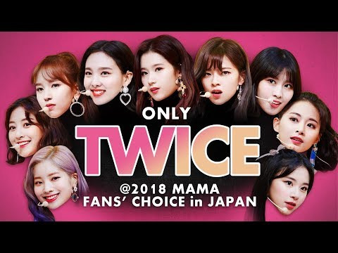 TWICE at 2018 MAMA FANS' CHOICE  in JAPAN | All Moments