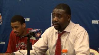 Howard Moore Press Conference: UIC 80, Chicago St. 69