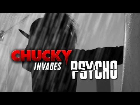 Chucky Invades Psycho - Horror Movie MashUp (2013) Film HD