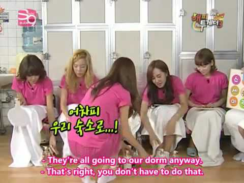 Girls Generations (SNSD) Happy Together (part 3-4) [Eng Subs]