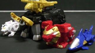 đồ chơi siêu nhân gao Power Rangers Wild Force Toys 파워레인저 정글포스 미니 정글킹 애니멀 변신 장난감