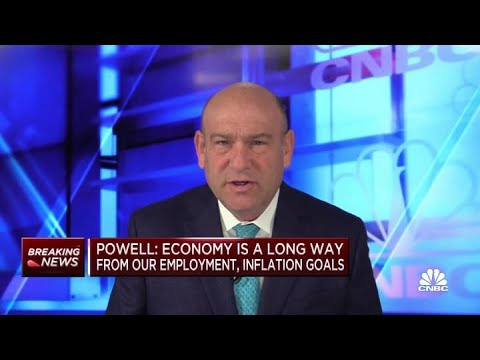 Fed chair Jerome Powell: Economy is long way from our employment, inflation goals