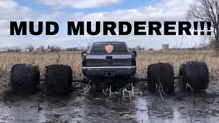 WORLDS WIDEST DUALLY CHURNS MUD LIKE BUTTER!!!