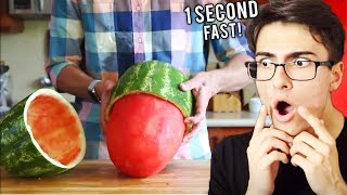He Did This In 1 SECOND.. (Fastest Workers Ever)