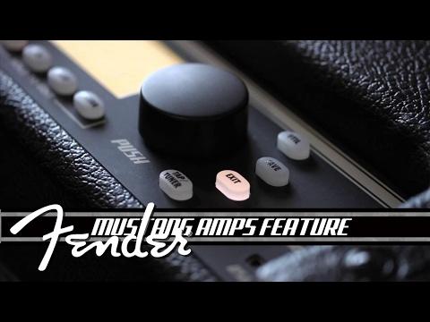 """Fender Mustang I V2 1x8"""" Modelling Amp Combo"""
