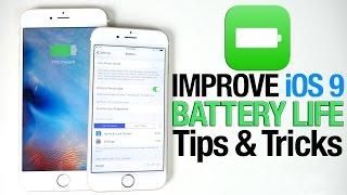 How To Improve iOS 9 Battery Life - iPhone, iPad & iPod Tips
