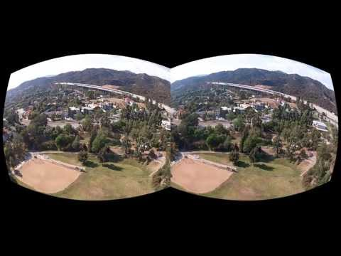 Oculus Rift 3D GoPro Movie test - Quad meets Rocket
