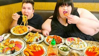 Las Vegas Chinese Buffet • All You Can Eat • MUKBANG