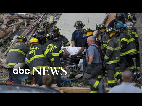 At least 1 killed, 6 injured in Baltimore gas explosion