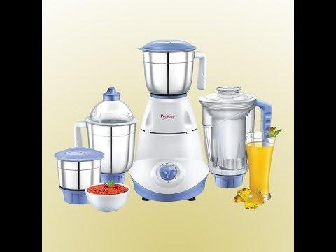 UNBOXING:- Prestige Iris(750 Watt) Mixer Grinder with 3 Stainless Steel Jar + 1 Juicer Jar