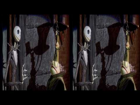 The Nightmare Before Christmas. (Sneak Peak - 3D Version)