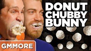 Chubby Bunny Donut Hole Challenge