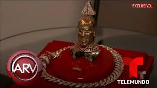 Joyero de Anuel AA confiesa cuántos diamantes tiene su lujosa cadena | Al Rojo Vivo | Telemundo