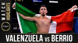 Valenzuela vs Berrio: HIGHLIGHTS: September 18, 2021 | PBC on FS1