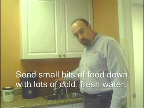 Sanford Kramer: Kitchen Sink Care How To