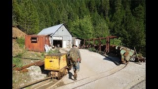 Special Visit To The Incredible 16 to 1 Mine: Part 4 - Tramming Into The 800 Level