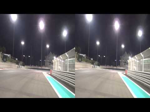 Train YAS - Cycling on th Formula 1 Yas Marina Racing Circuit, ABU DHABI (3D)