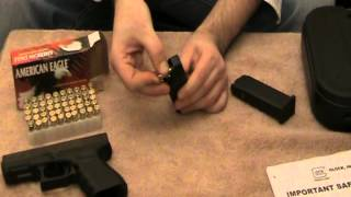 How to load a GLOCK and use the speed loader for Beginners