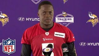 Teddy Bridgewater Speaks to Media for First Time Since Injury | NFL