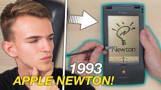 APPLE NEWTON UNBOXING - Un iPhone di 25 ANNI FA!