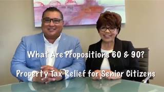 Prop 60 90 | Prop 60 | Prop 90 | Proposition 60 90 | California Property Tax Transfer For Seniors