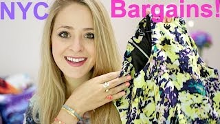 Fleur DeForce – Clothing Haul: NYC Bargains!