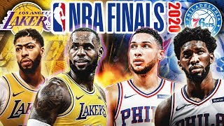 What The 2020 NBA Finals Will Look Like (Lakers VS 76ers)