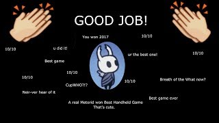 Why Hollow Knight is my favorite game of 2017