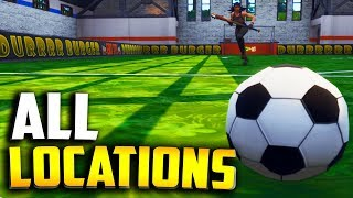 "All PITCH LOCATIONS! ""Score a goal on different pitches"" (All Fortnite Soccer Field Locations) - YouTube"