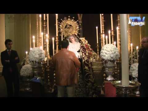Besamanos de la Virgen de las Angustias de los Estudiantes